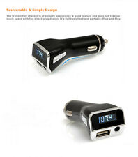 MP3 Mini Player Wireless Converter Car charger FM Transmitter AUX USB Music Kit