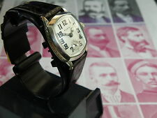 SERVICED....1928 ELGIN ANTIQUE MEN`S WATCH.....RARE ANTIQUE ART DECO ETCHED CASE