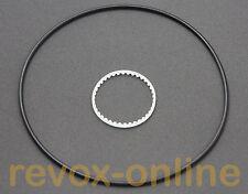 1 Satz, Zahnriemen und Antriebsriemen für das Zählwerk der Revox A77, Neuware