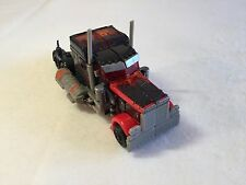 Fireburst Optimus Prime TRANSFORMERS DOTM Voyager Class 2010 Hasbro Dark of Moon
