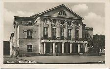 alte AK Weimar 1955, National-Theater