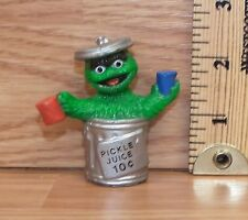 """Muppets Sesame Street """"Oscar the Grouch"""" Pickle Juice 10c PVC Figure Only *READ*"""