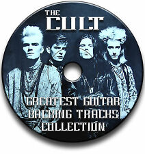 THE CULT STYLE MP3 HARD ROCK GUITAR BACKING TRACKS COLLECTION JAM TRACKS