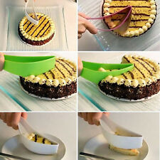 Hot Cake Pie Slicer Sheet Guide Cutter Server Bread Slice Knife Kitchen Gadget