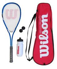 Wilson Squash Racket Set with Balls, Waterbottle & Carrycase