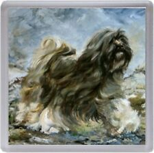 Tibetan Terrier Dog Coaster No 8SH by Starprint from a painting by Susan Harper