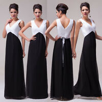 PLUS SIZE Long Mother Of The Bride/ Groom Evening Masquerade Dress Wedding Gowns