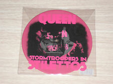 "QUEEN - STORMTROOPERS IN STILETTOS(KEEP YOURSELF ALIVE) - 45 GIRI 7"" PINK VINYL"