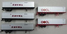 Con-Cor Showa & OOCL 5-Pack N-Scale Trailer Pack
