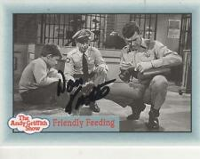 "DON KNOTTS HAND SIGNED 1990 PACIFIC ""ANDY GRIFFITH SHOW"" #245 - BARNEY FIFE"