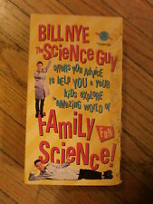 BILL NYE SCIENCE GUY FAMILY FUN VHS Video Parental Advice Kids Excited Scientist