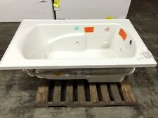 "Sterling 76271110-0 Lawson 60""x36"" Whirlpool Bath LH Drain White Drop In"