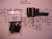 KORG M1 Netzteil Elko-Kit PSU caps power supply recapping recap kit