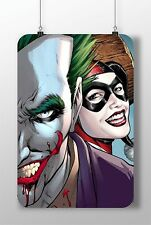 METAL SIGN The JOKER Harley Quinn SUICIDE SQUAD Great Poster Decor Bedroom Wall