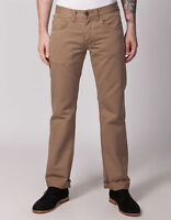 NEW MENS BEN SHERMAN TRUE ICON SOFT COTTON STRAIGHT LEG BROWN JEANS RRP £75
