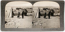 Keystone Stereoview of The Great Dam at Assuan, EGYPT from 1910's Education Set
