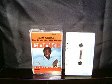 SAM COOKE – THE MAN AND HIS MUSIC - RARE CASSETTE NM