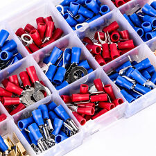 300PCS Insulated Wire Connector Assortment Electrical Crimp Terminals Set Kits