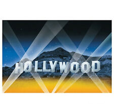 HOLLYWOOD HILLS AWARDS MOVIE NIGHT WALL MURAL PARTY DECORATION PROP BACKDROP NEW