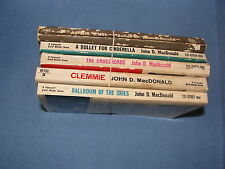 A Bullet For Cinderella + 4 Other Early Novels By John d MacDonald