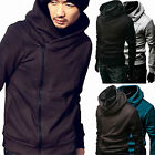 High Collar Men's Jacket Slim Dust Coats Hoodies Clothes Sweater Overcoat Tops