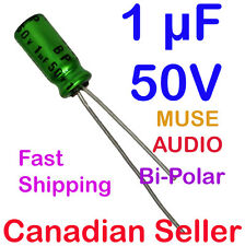 4pcs 1uF 50V 5x11mm Nichicon MUSE UES Bi-Polar For Audio HiFi Amplifier Radio