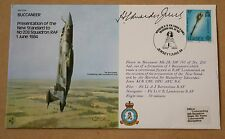BUCCANEER 208 SQUADRON 1984 COVER SIGNED AIR Mshl SIR HUMPHREY  EDWARDES JONES