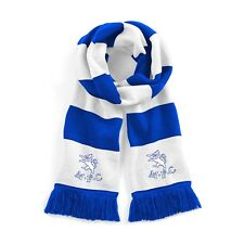 Retro Millwall Blue/White Traditional Football Scarf Embroidered Logo