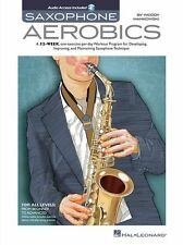 Saxophone Aerobics Learn to Play SAX Music Tutorial Lesson Book & Online Audio
