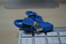 USB3.0 A Male to A Female connector 90 Degree Left Angle male Extension Cable