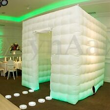 Inflatable Professional 8 LED Photo Booth Tent 2.5M for Weddings Birthdays Party