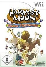 Nintendo Wii Harvest Moon Deine Tierparade Deutsch Neuwertig