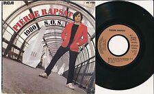 """PIERRE RAPSAT 45 TOURS 7"""" FRANCE 1980"""