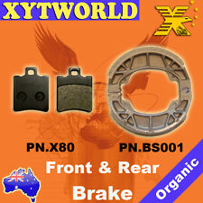 FRONT REAR Brake Pads Shoes for HONDA SGX 50 1997 1998 1999 2000 2001 2002 2003