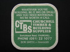 CTBS CHURCHILL TIMBER & BUILDING SUPPLIES SWITCHBACK RD 051 221077 COASTER