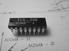 TCA540 Synchronous Demodulator for TV receivers, AFC   DIP16  1pcs
