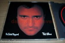 Phil Collins 1985 Japan CD No Jacket Required w/ One More Night & Sussudio