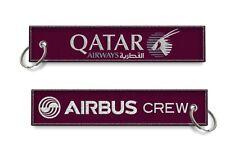 Qatar Airways-Airbus Crew keychains x1