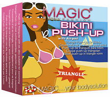 MAGIC BODYFASHION BIKINI LUFTKISSEN PUSH-UP EINLAGEN TRIANGEL-FORM AIR PAD