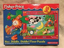 Fisher Price - Hey Diddle Diddle! Giant Floor Puzzle