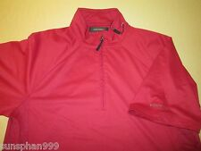 New GREG NORMAN Short Sleeve  Play Dry Golf  JACKET  Size  M - RED