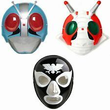 New Japanese Kamen Rider Mask Set of Three Cosplay Halloween Costume