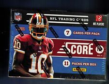 2012 Score NFL Football Sealed Box of Packs 77 Cards  ROOKIES WILSON LUCK