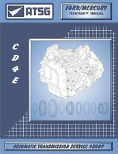 Ford Escape V6 CD4E Automatic Transmission ATSG Workshop Manual