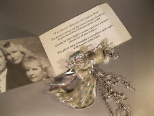 "KIRKS FOLLY RARE/SIGNED ""SWEET DREAMS SANDMAN BROOCH"" GORGEOUS W/HOURGLASS!"