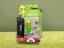New World of Nintendo Zelda LINK Figure w/ Sword & Shield Series 1-3 Jakks
