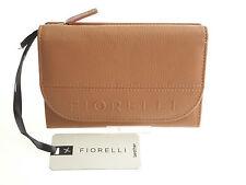 Fiorelli Zoe Caramel Tan Flapover Purse In Gorgeous Soft Leather BNWT RRP £49.00