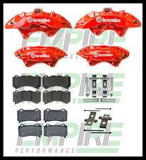 VE VF HSV FRONT AND REAR BREMBO BRAKE UPGRADE 6 Piston front 4 Piston rear