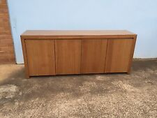 Local Made Tassie Oak Hardwood Timber Fairmont Buffet Sideboard Timber Door
