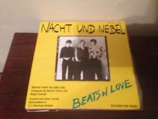 "NACHT UND NEBEL - BEATS OF LOVE 7"" SINGLE BELGIAN SYNTH POP"